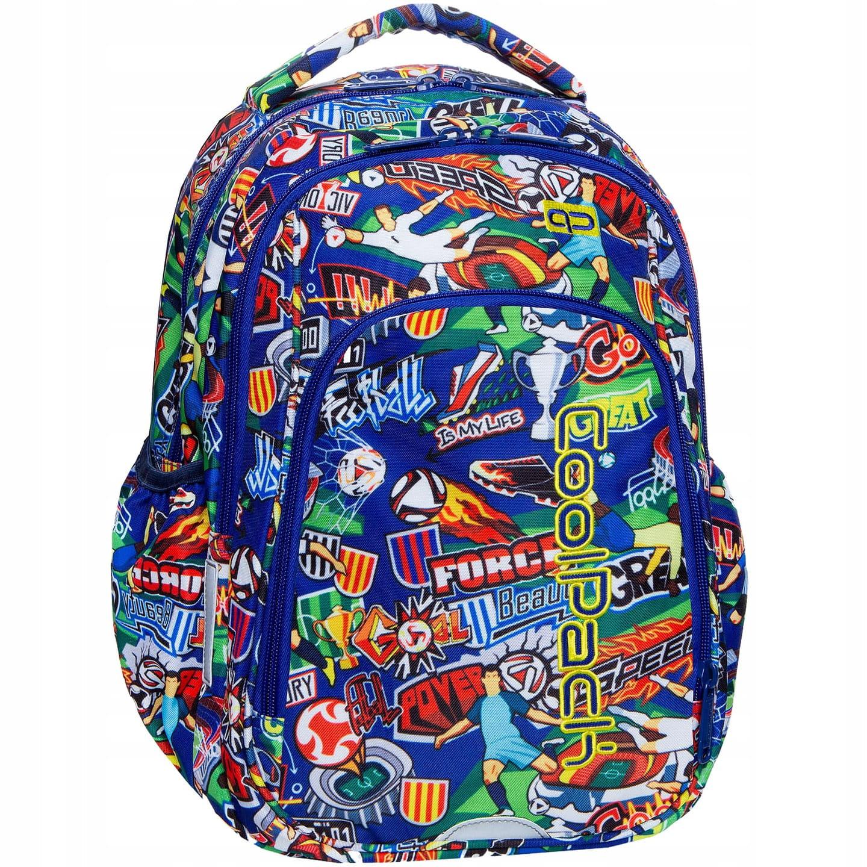 c23c3d122c99e Plecak szkolny CoolPack Football Cartoon Strike S dla chłopaka kolorowa  kreskówka z Piłką Nożną B17036. 1.jpg. nowość. 1. ...
