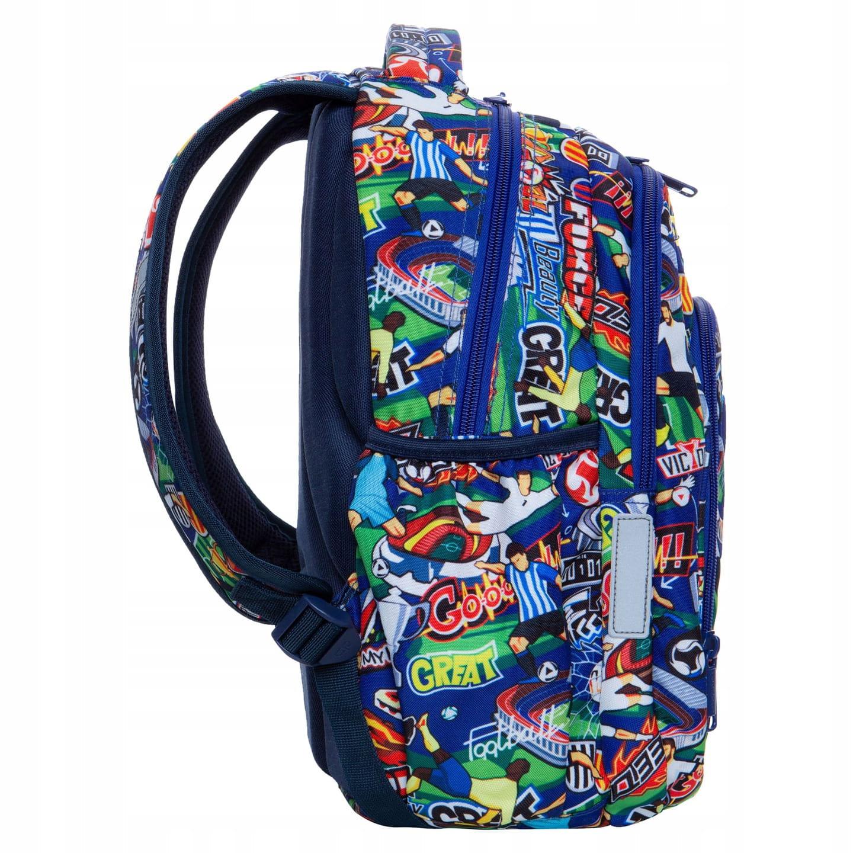 39e138a4aa083 Plecak szkolny CoolPack Football Cartoon Strike S dla chłopaka kolorowa  kreskówka z Piłką Nożną B17036. 1.jpg. nowość. 1.jpg · 2.jpg ...