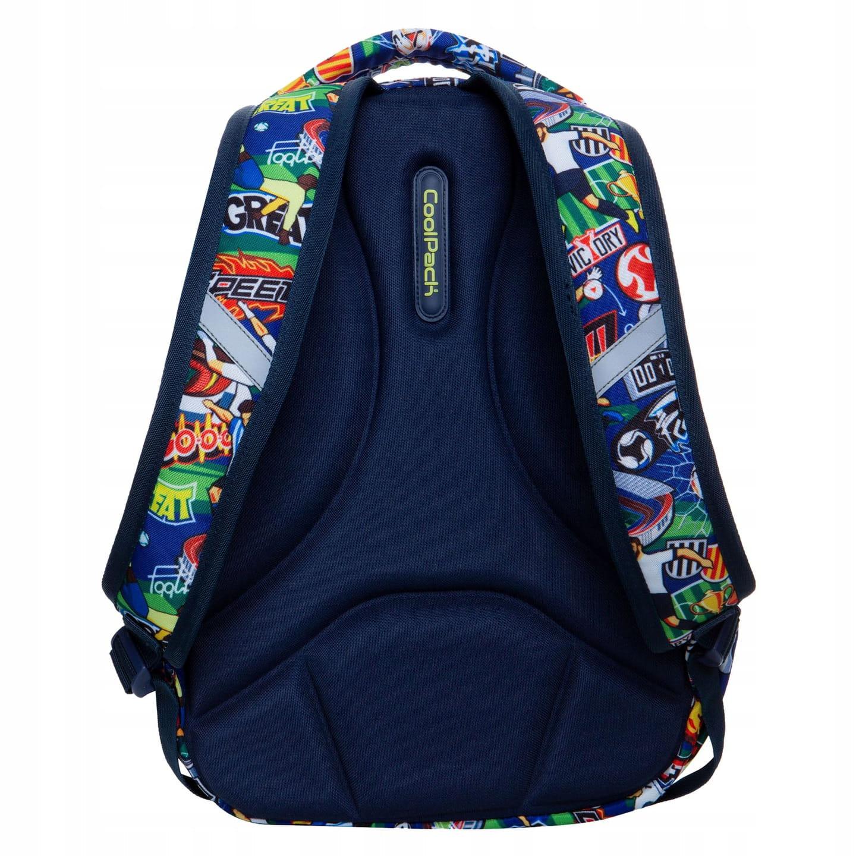 d8d5e9c8d4c39 Plecak szkolny CoolPack Football Cartoon Strike S dla chłopaka kolorowa  kreskówka z Piłką Nożną B17036. 1.jpg. nowość. 1.jpg · 2.jpg · 3.jpg ...