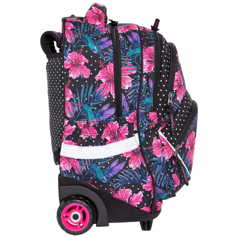 69d038ecd9b1c CoolPack Starr Blossoms kwiaty STARR 27l plecak szkolny na kółkach B35102.  1.jpg. nowość. 1.jpg; 2.jpg ...