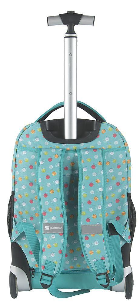 b152550c41b79 Młodzieżowy plecak szkolny na kółkach Unique PASO - 17-1230 UB MINT ...