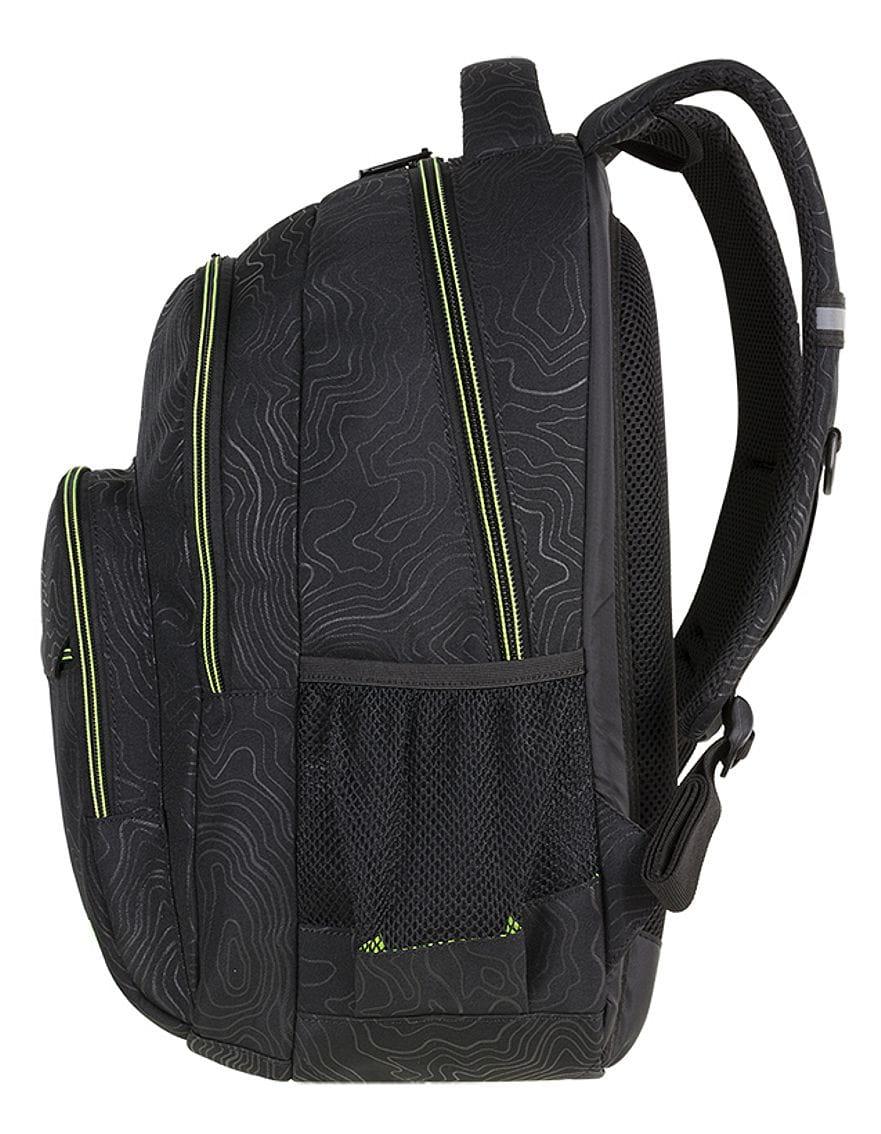 5ec10f17a41ae CoolPack TOPOGRAPHY YELLOW Basic plecak szkolny