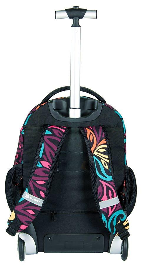 0a7b236d22d76 Młodzieżowy plecak szkolny na kółkach Unique PASO - 17-1230 UW Wild ...