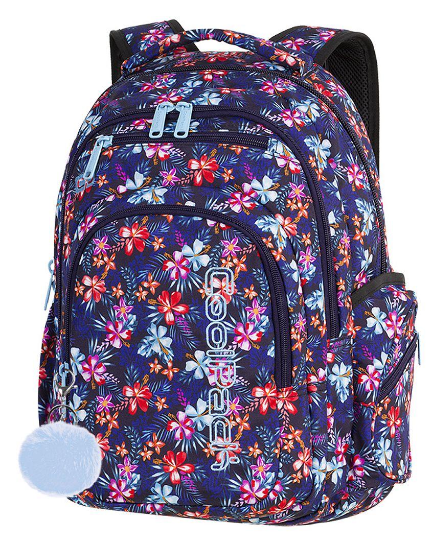 c1e6170c813ea CoolPack TROPICAL BLUISH + POMPON Flash plecak szkolny