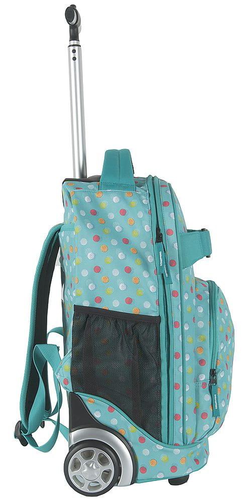 c0c3c3b0426d5 Młodzieżowy plecak szkolny na kółkach Unique PASO - 17-1230 UB MINT ...