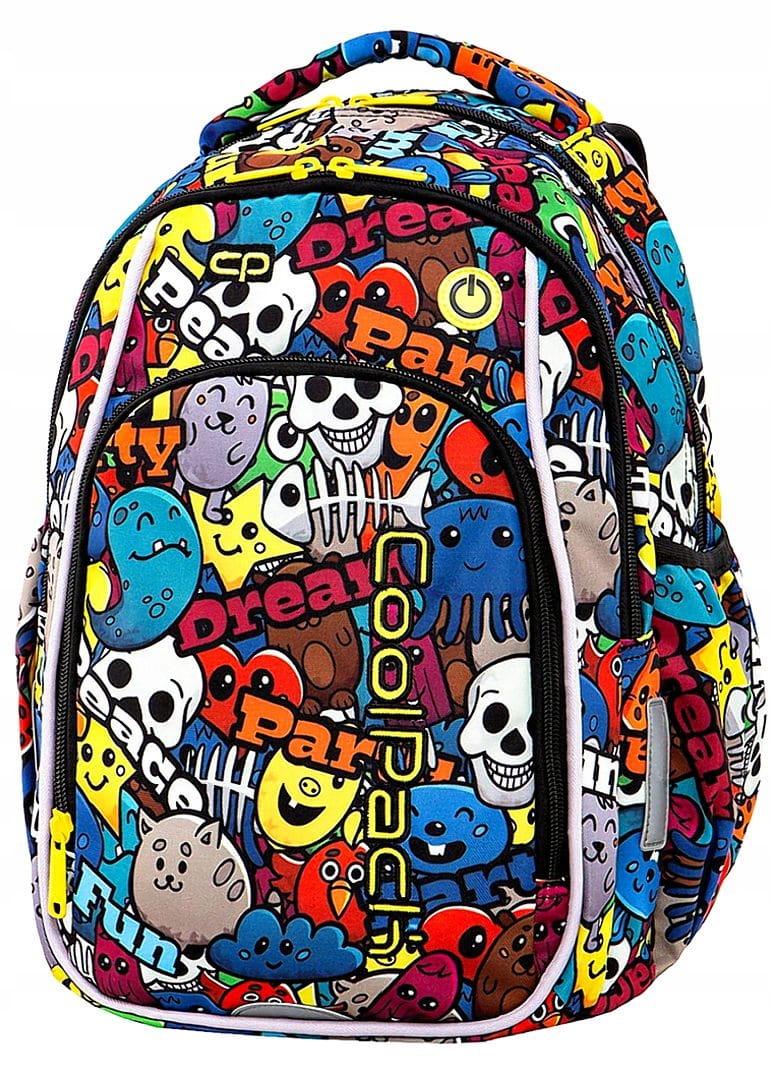 d535978273398 CoolPack CARTOON LEDPACK plecak szkolny