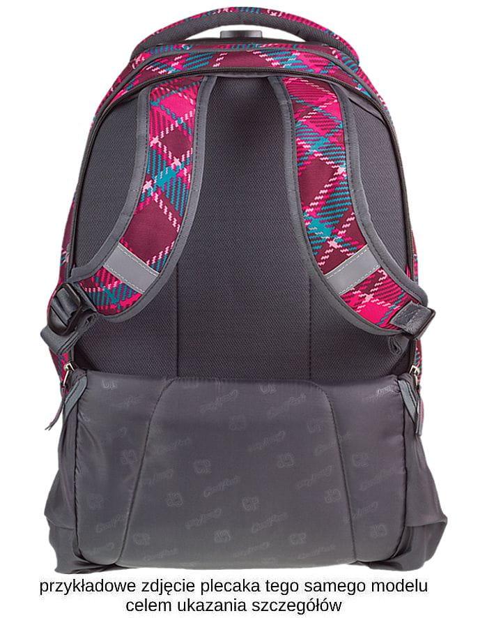 5384349217424 CoolPack PASTEL CHECK szary w kolorową kratkę Target 36l plecak ...