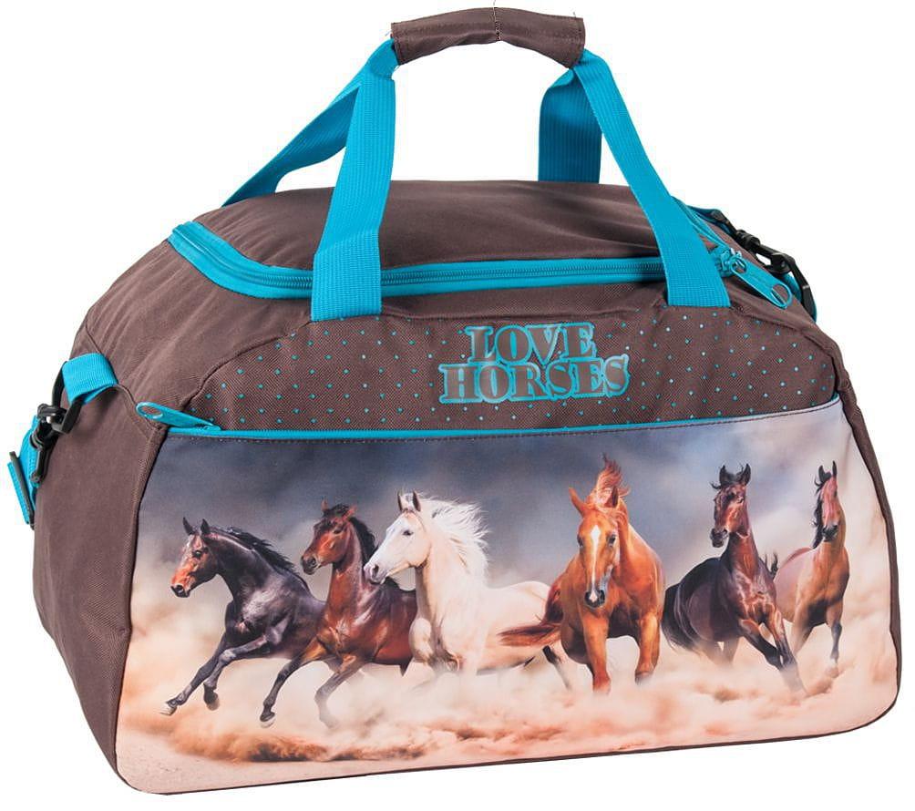 8642629ffdcc8 Torba sportowa, basen, fitness, podróżna 17-018KOL z koniem koń ...