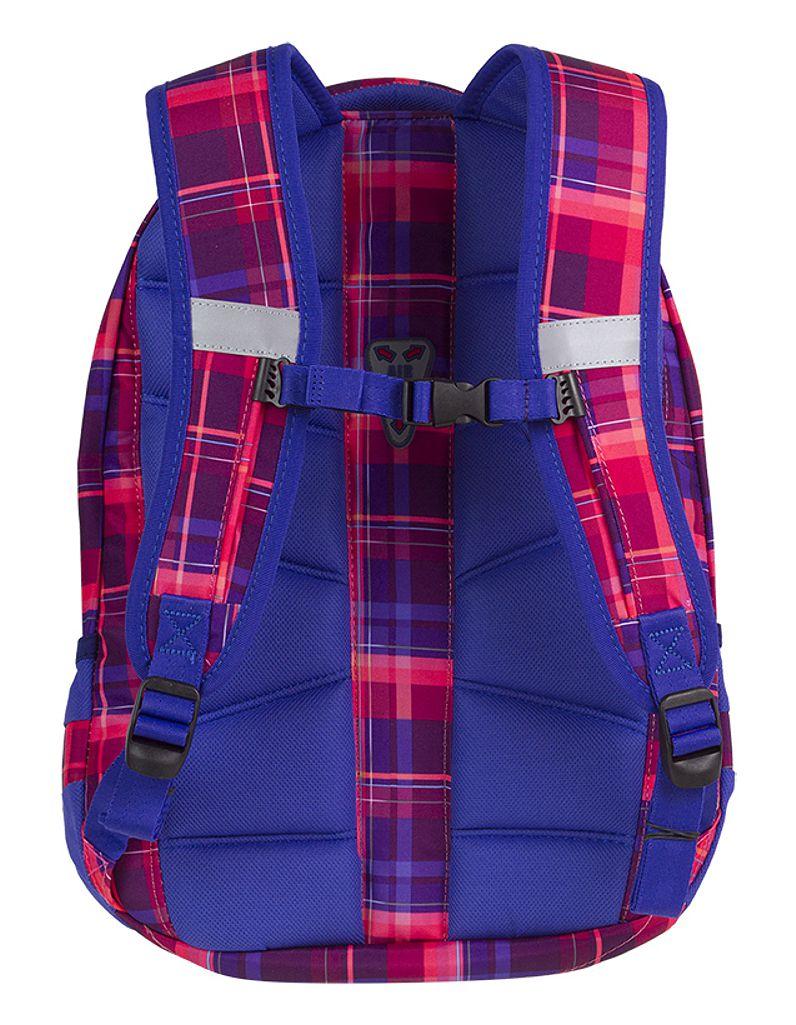 CoolPack MELLOW PINK College plecak szkolny, młodziezowy, sportowy, różowy w kratkę 81921CP (A508)